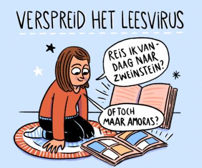 #Verspreidhetleesvirus