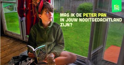Mag ik de Peter Pan zijn in jouw Nooitgedachtland?
